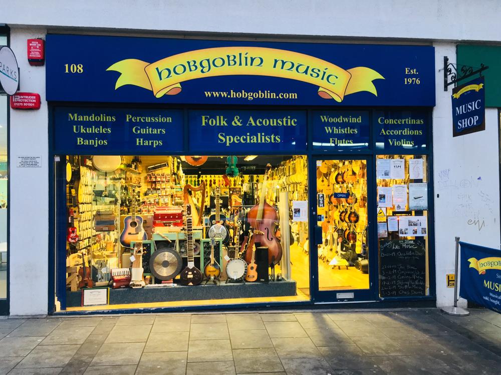 Hobgoblin Music Shop In Brighton