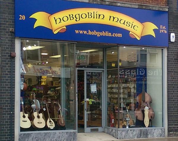 Hobgoblin Music Shop in Southampton