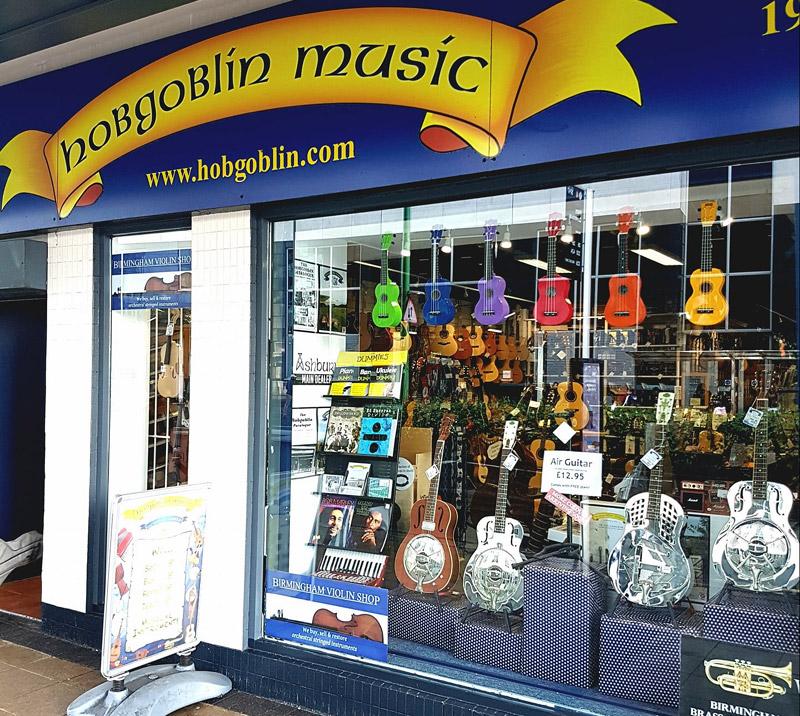 Hobgoblin Music Shop in Birmingham
