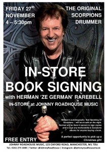 Celebrity Book Signing in Manchester Shop!