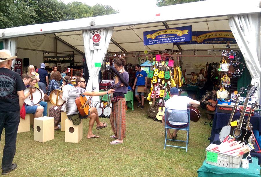 Hobgoblin Music at Cambridge Folk Festival