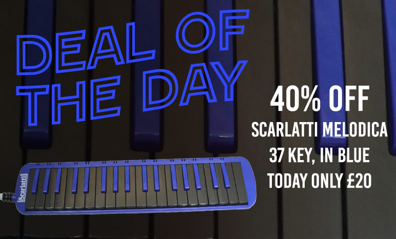Deal of the Day, Scarlatti 37 Key Melodica 40% off!