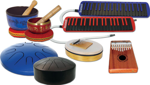 Weird and wonderful instruments at Hobgoblin Music