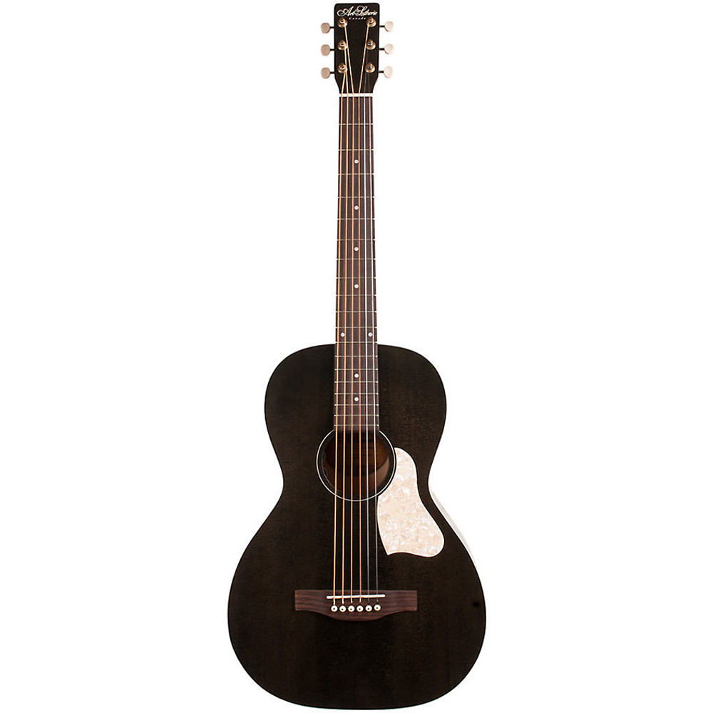 Art & Lutherie Guitars Roadhouse Parlour Guitar, Faded Black