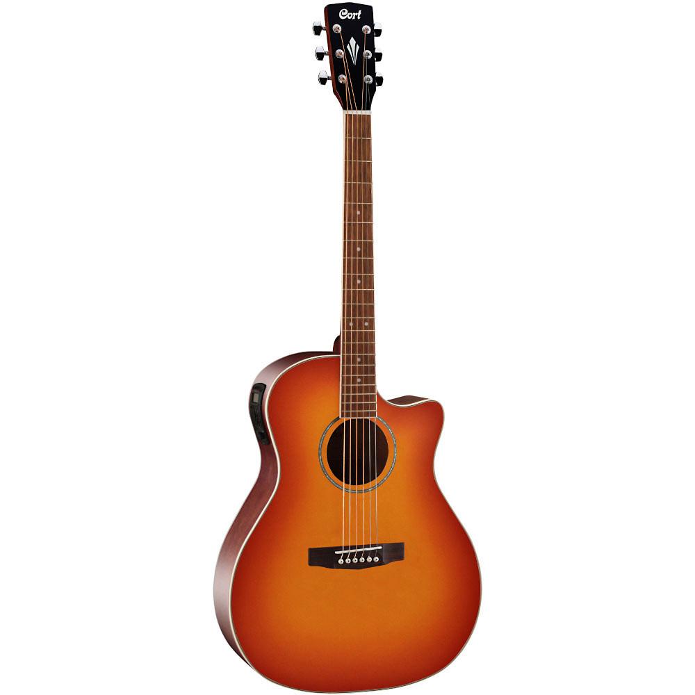 Cort GA-MEDX Grand Regal Guitar, Sunburst