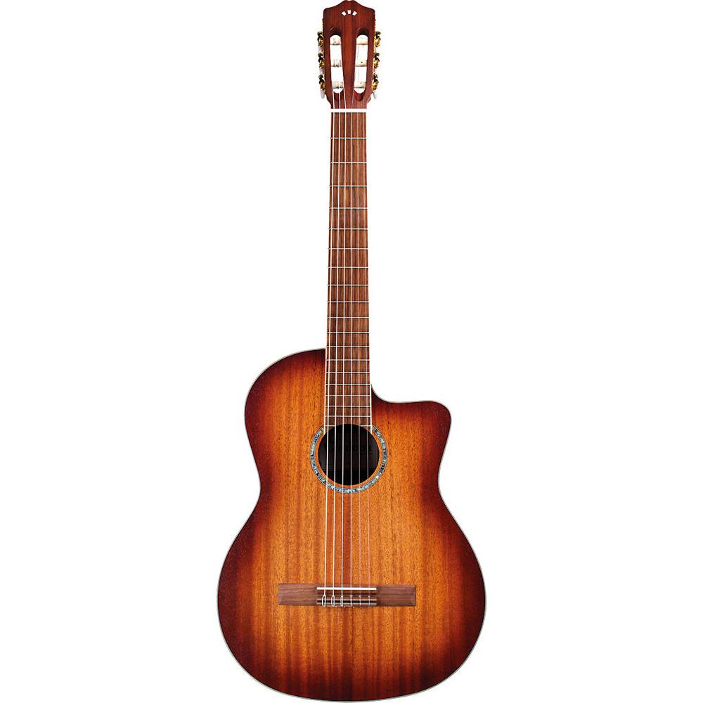 Cordoba C4-CE-NAT Classic Guitar, Solid Mahogany