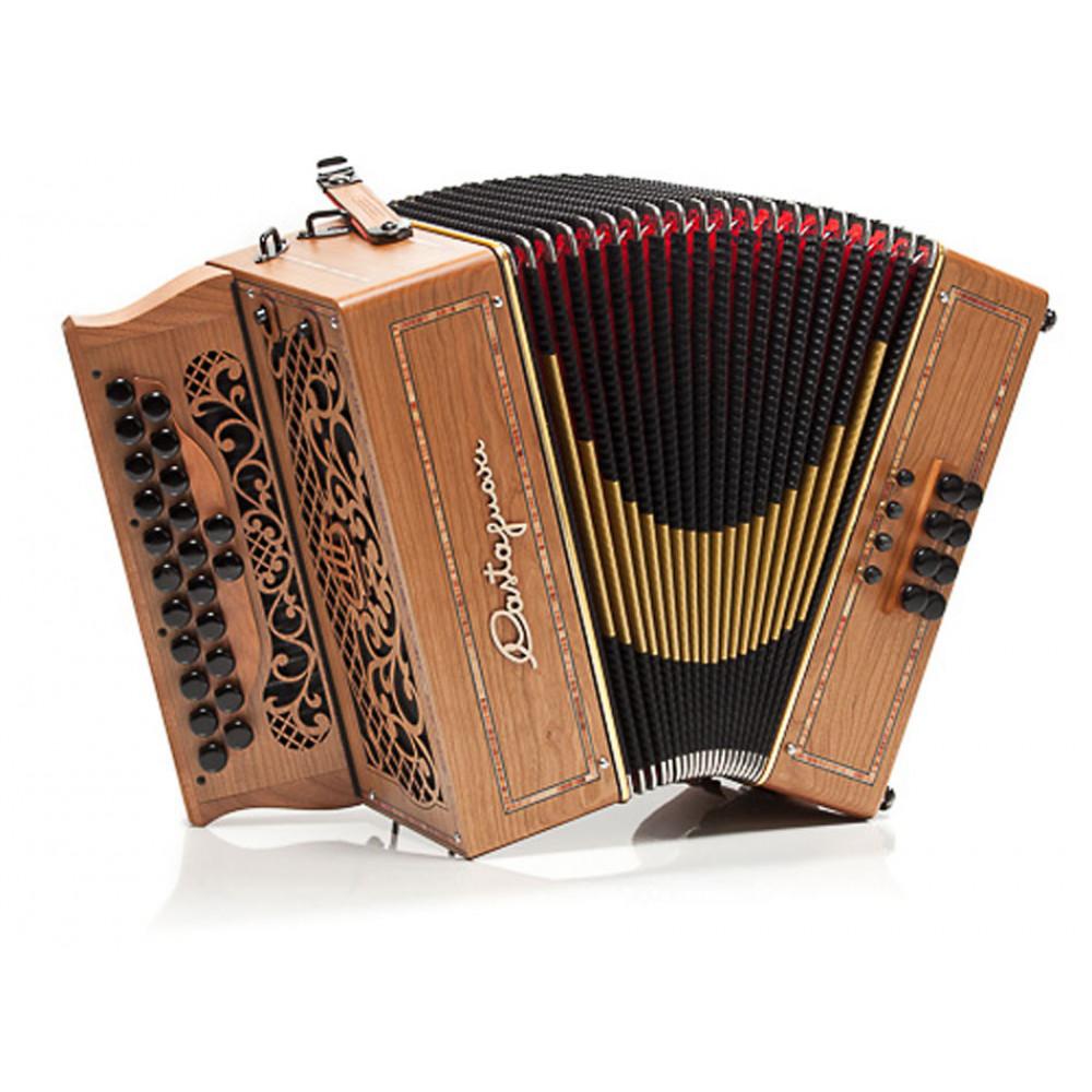 Castagnari 1914 D/G Melodeon, 3 voice