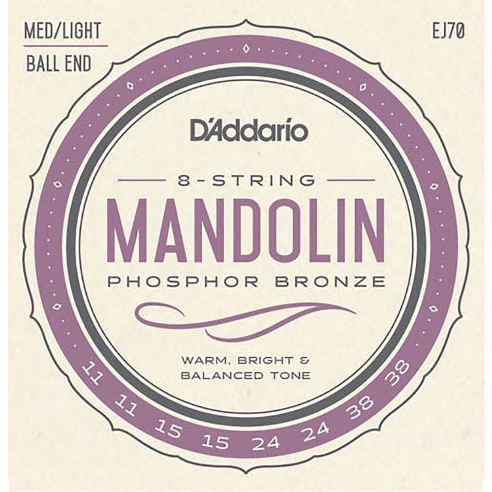 Daddario EJ70 Mandolin Strings, ball