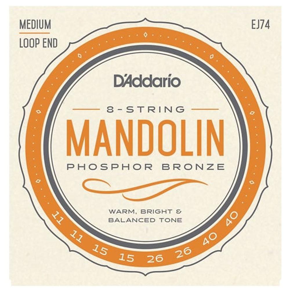 D'Addario XTM11540 Phosphor Bronze Mandolin Strin