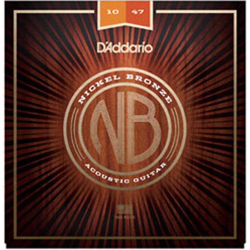 D'Addario NB1047 Nickel Bronze Guitar Strings