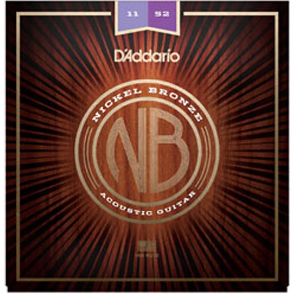 D'Addario NB1152 Nickel Bronze Guitar Strings