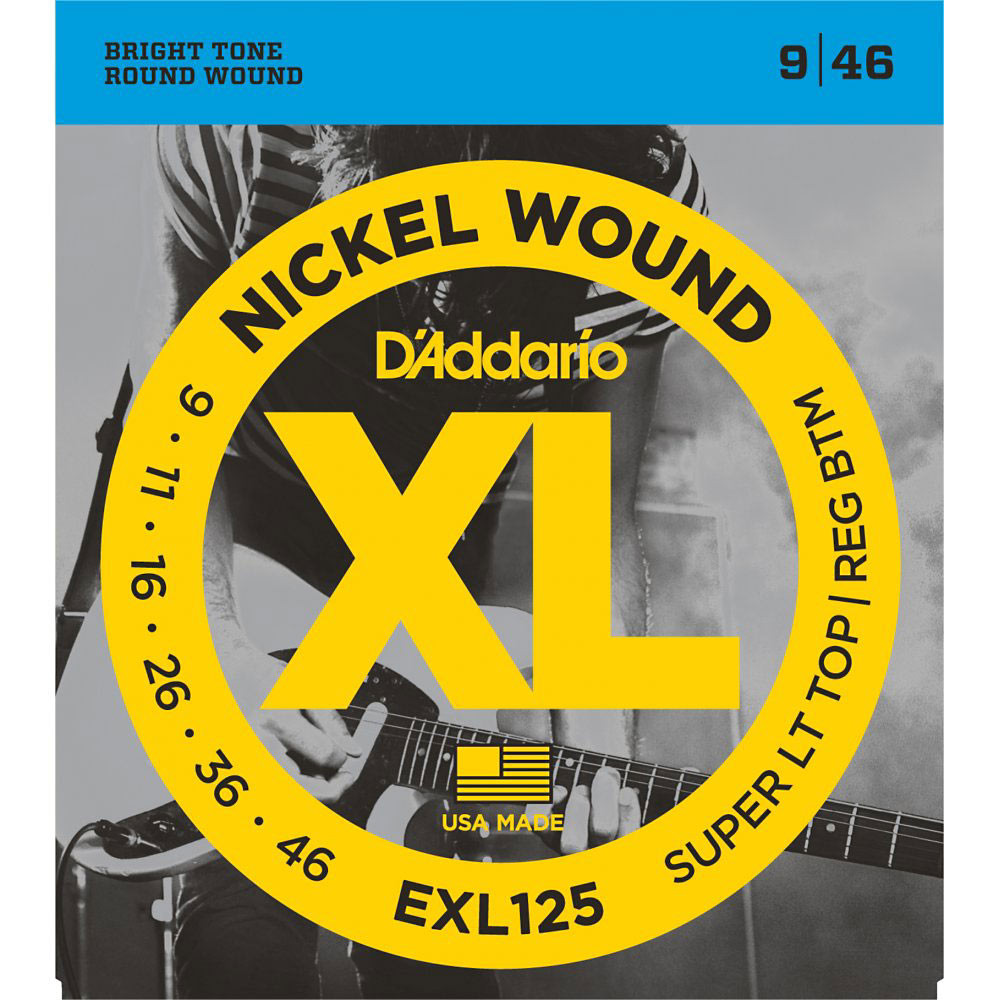 D'Addario EXL125 Electric Guitar Strings