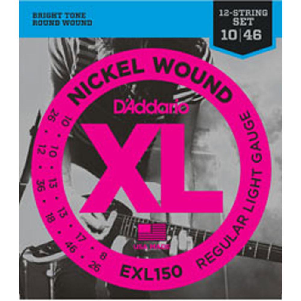 D\'Addario EXL150 Electric Guitar Strings, 12str