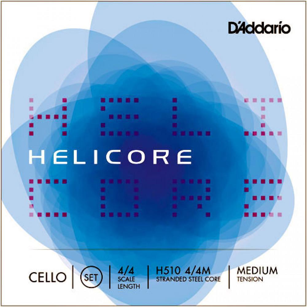 D\'Addario Helicore Cello String Set. 4/4
