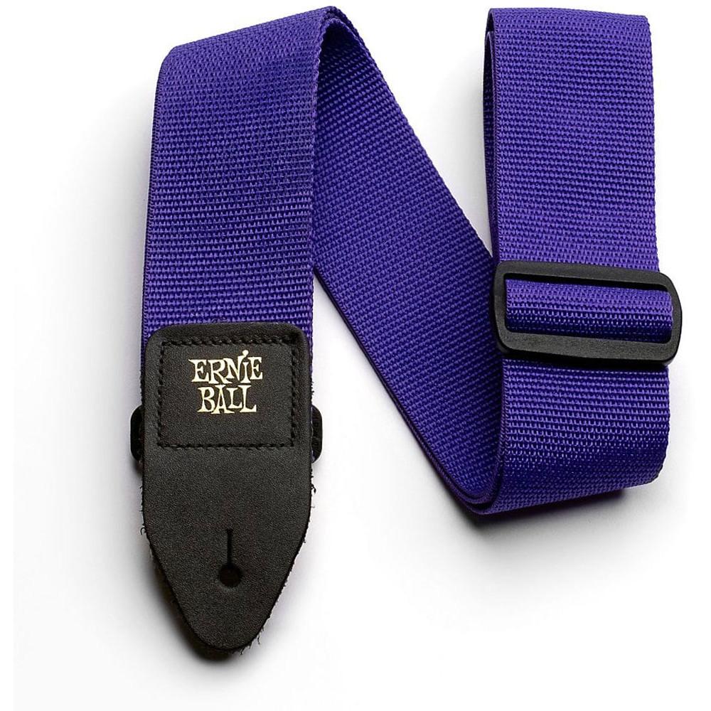 Ernie Ball P04045 Polypro Guitar Strap, Purple