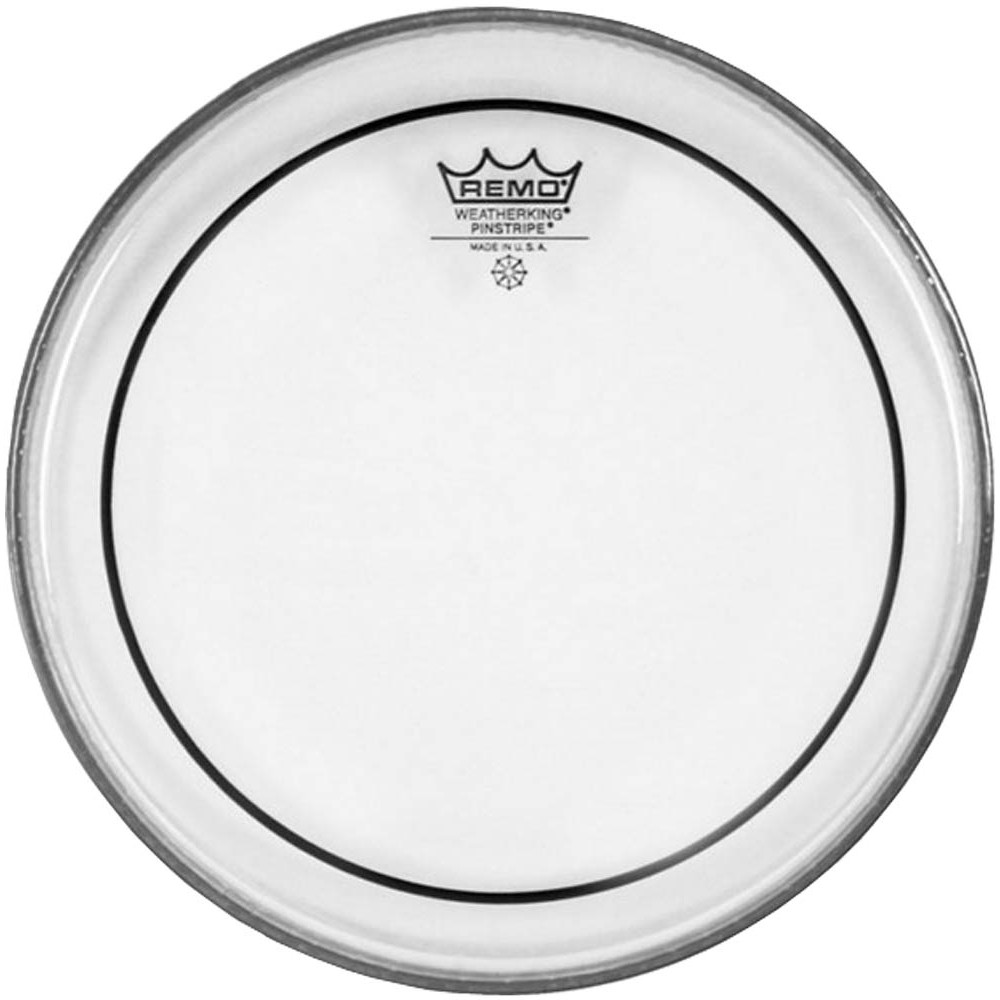 Remo PS-1322-00 22inch Pinstripe Clear Bass