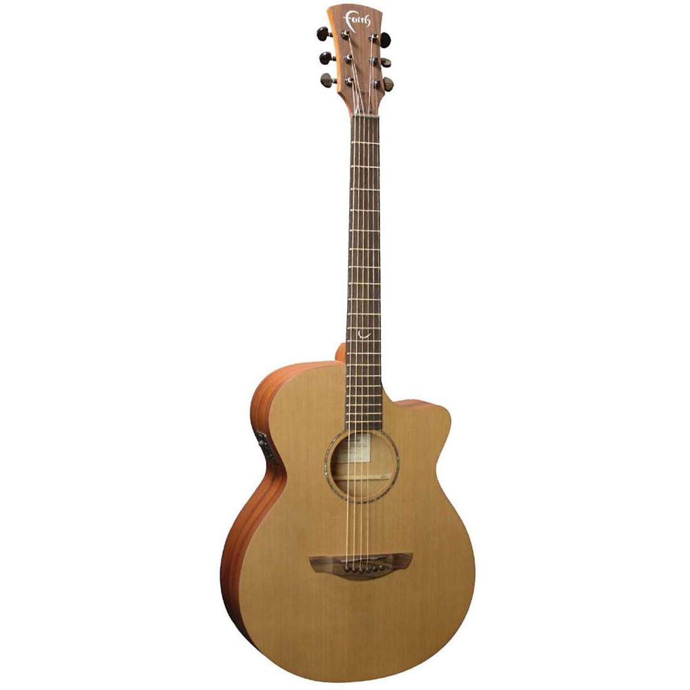 Faith Naked Venus Electro Guitar, Cedar