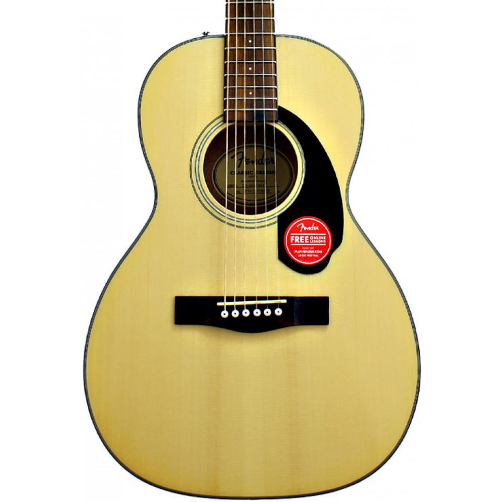 Fender CP60S Parlour Acoustic Guitar, Nat
