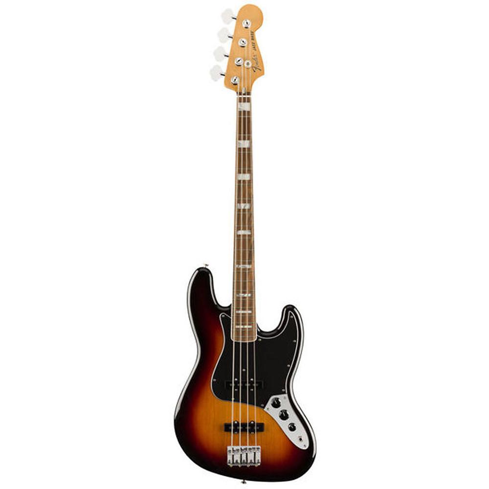 Fender Vintera 70s Jazz Bass Guitar, 3 Colour S/B
