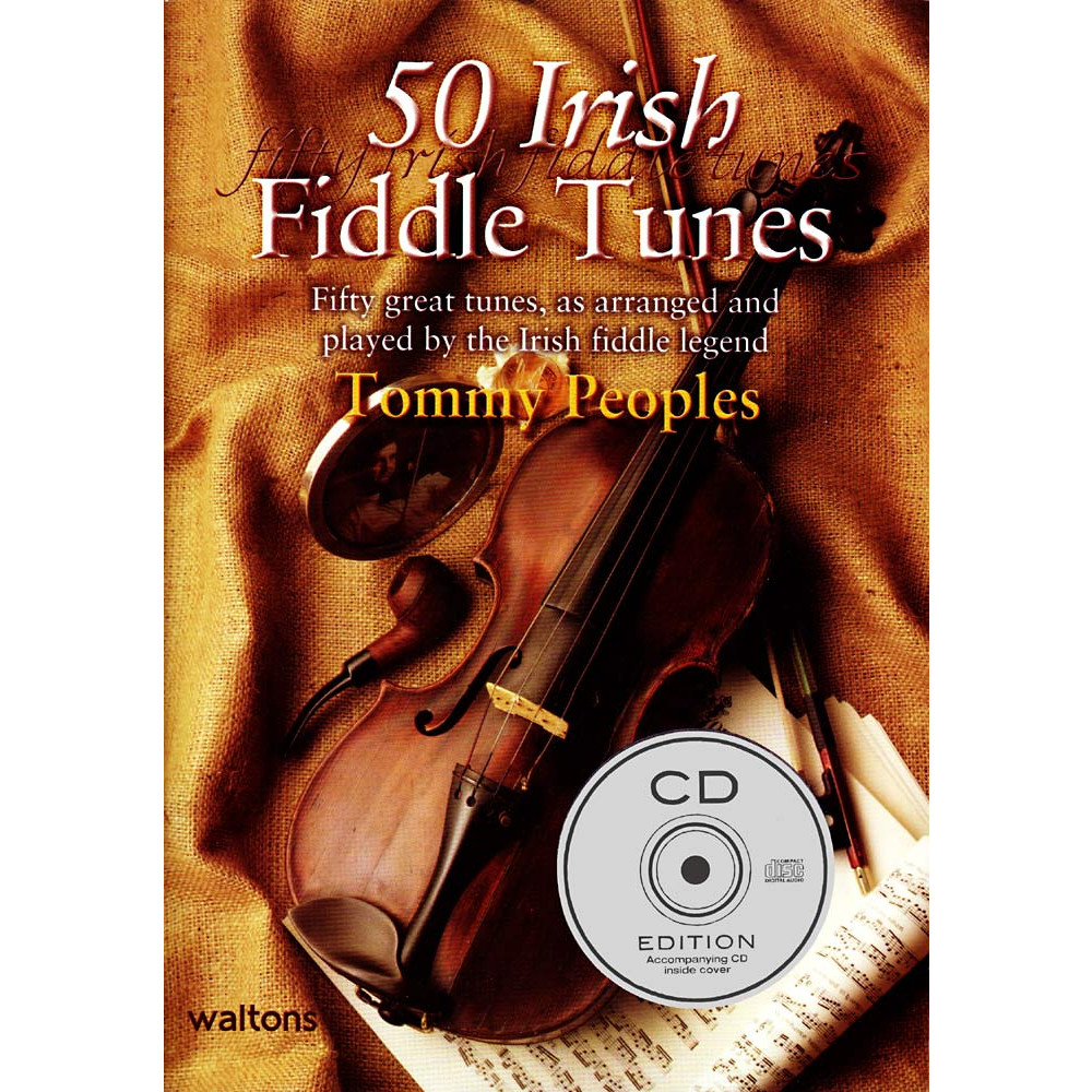 50 Irish Fiddle Tunes Book&CD