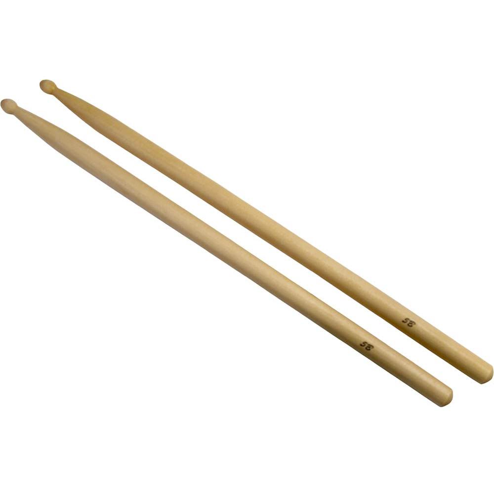 Atlas 5B Maple Drum Sticks, Wood Tip