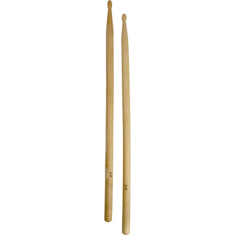 Atlas 7A Maple Drum Sticks, Wood Tip