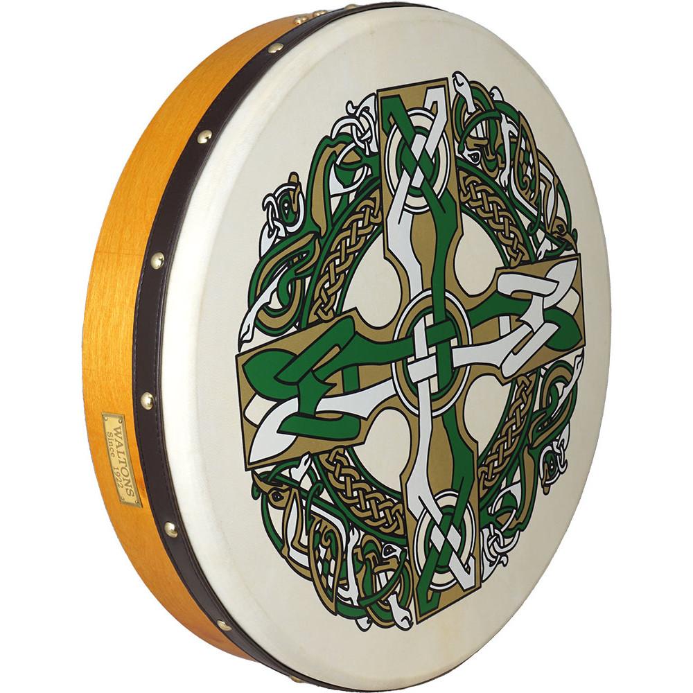 Waltons 18inch Bodhran Celtic Cross