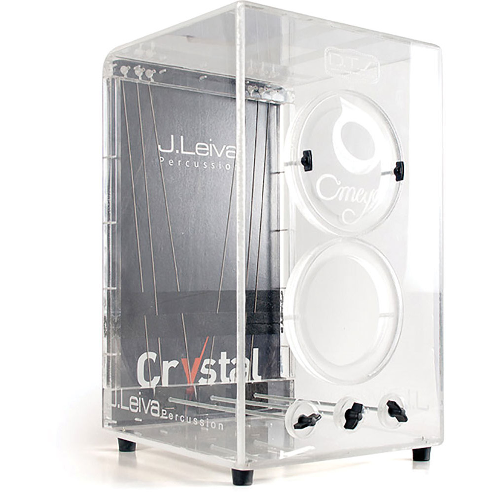 Leiva CAJ139 Crystal Cajon, 6 String Clear