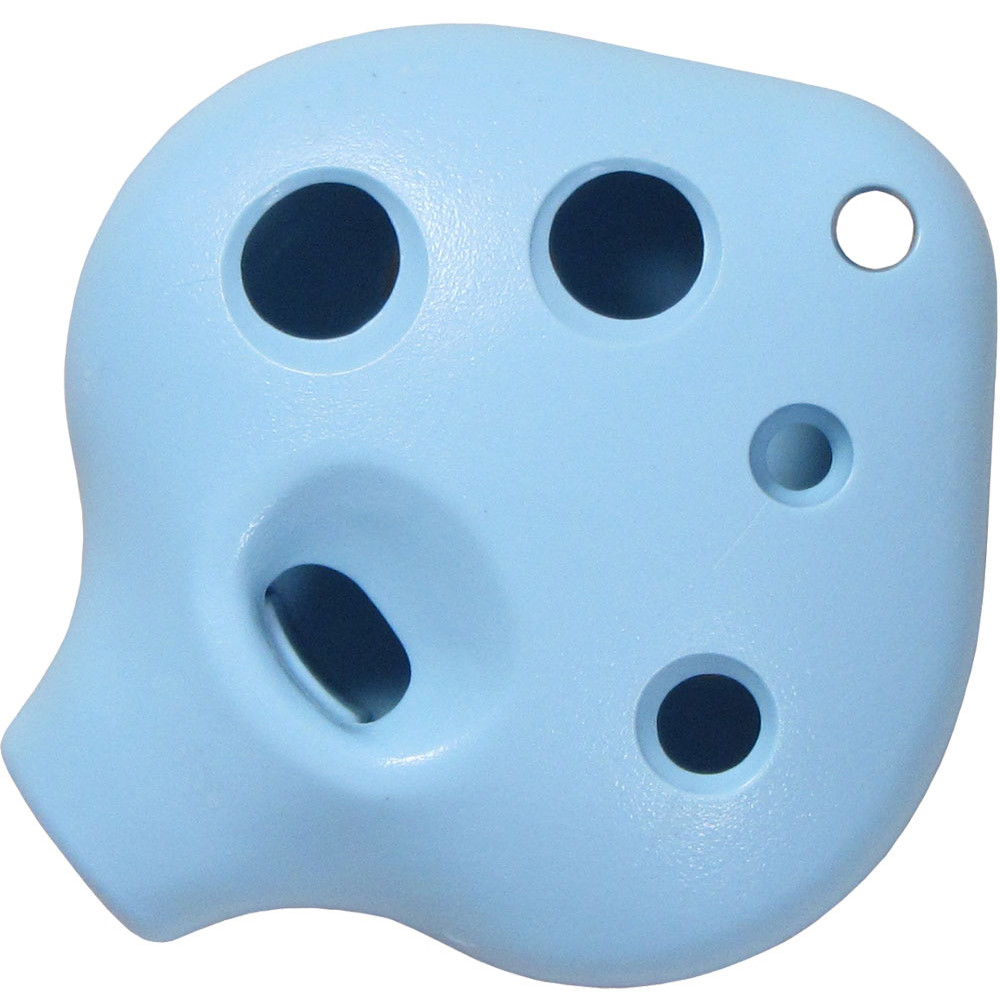 Atlas 6 Hole Ocarina, Blue