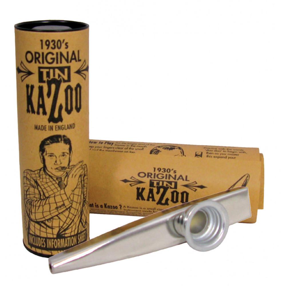 Clarke Metal Kazoo, Silver