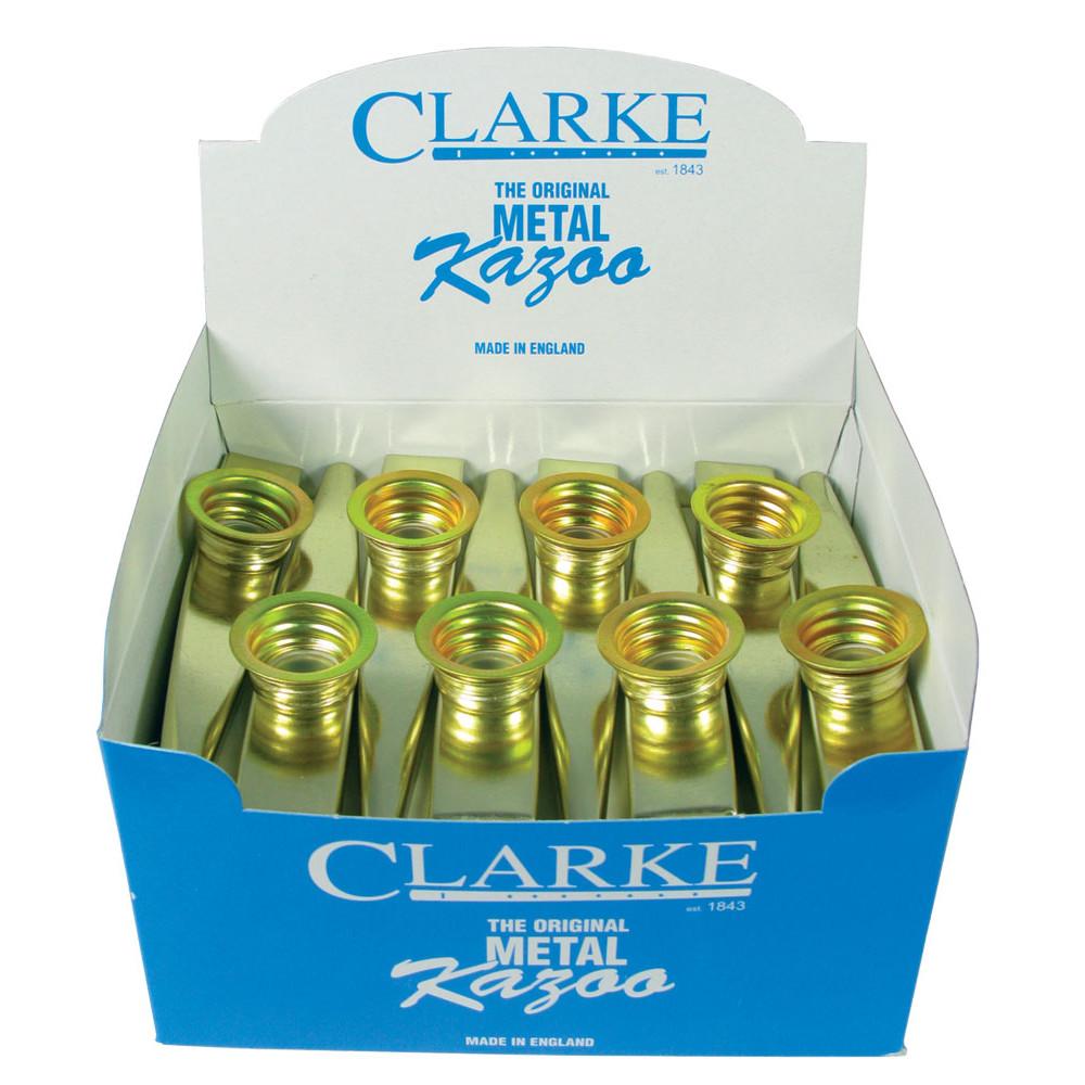 Clarke Gold colour Metal Kazoo, Box