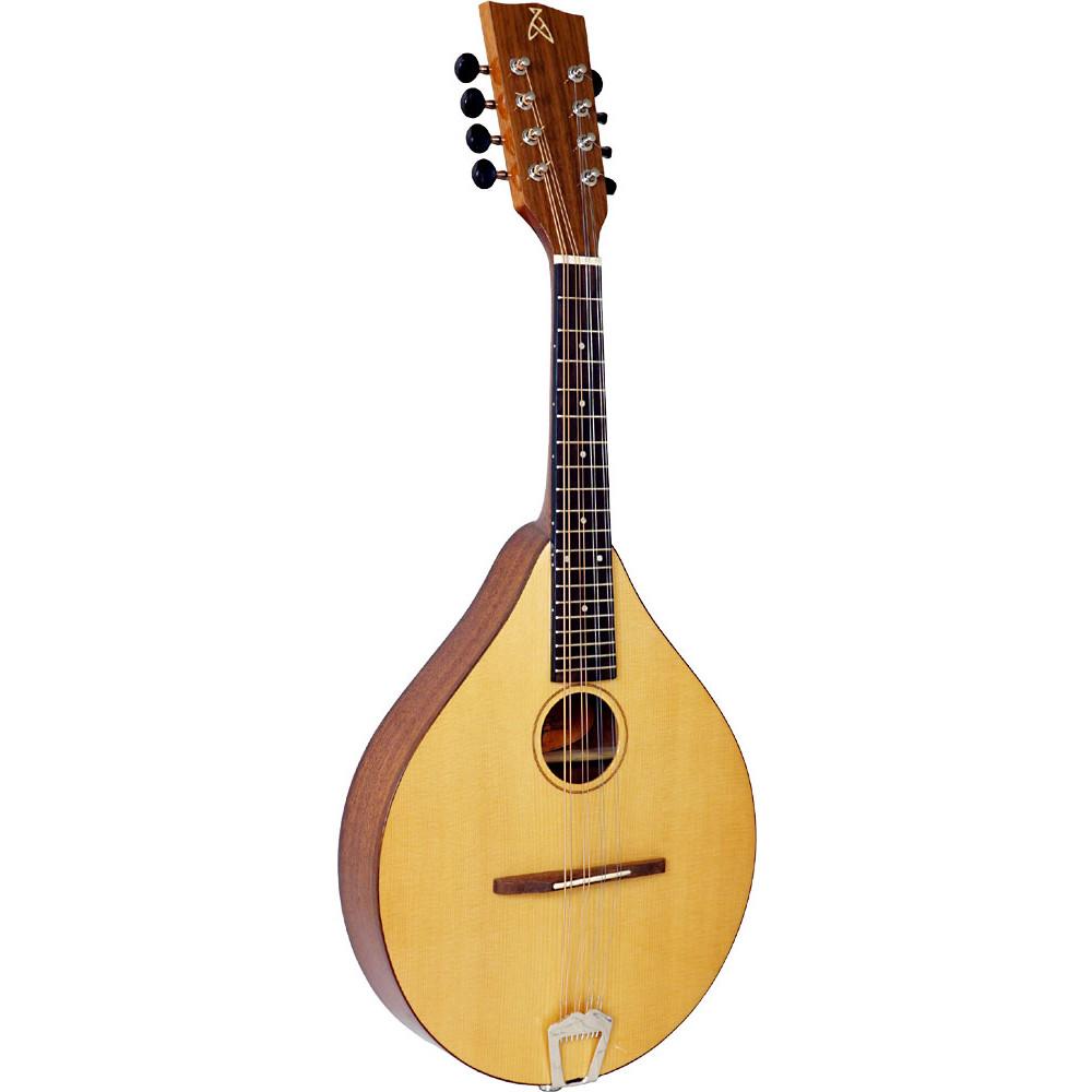 Ashbury Style E Celtic Mandolin, Solid Spruce