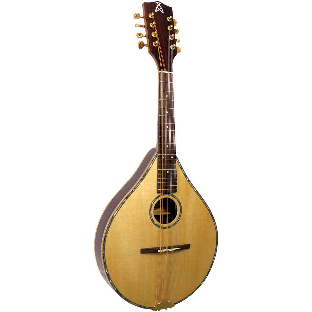 Ashbury Style S Celtic Mandolin, Electro