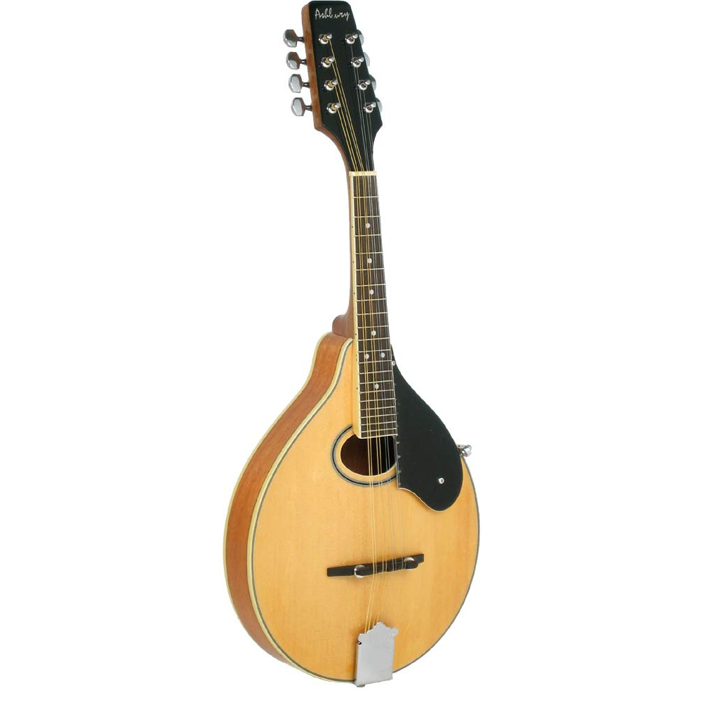 Ashbury AM-50 A Style Mandolin, Natural