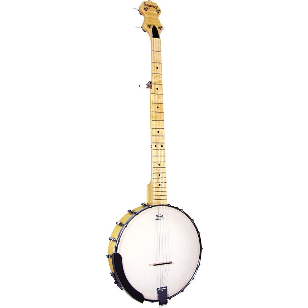 Ashbury AB-25 Openback 5 String Banjo, Maple
