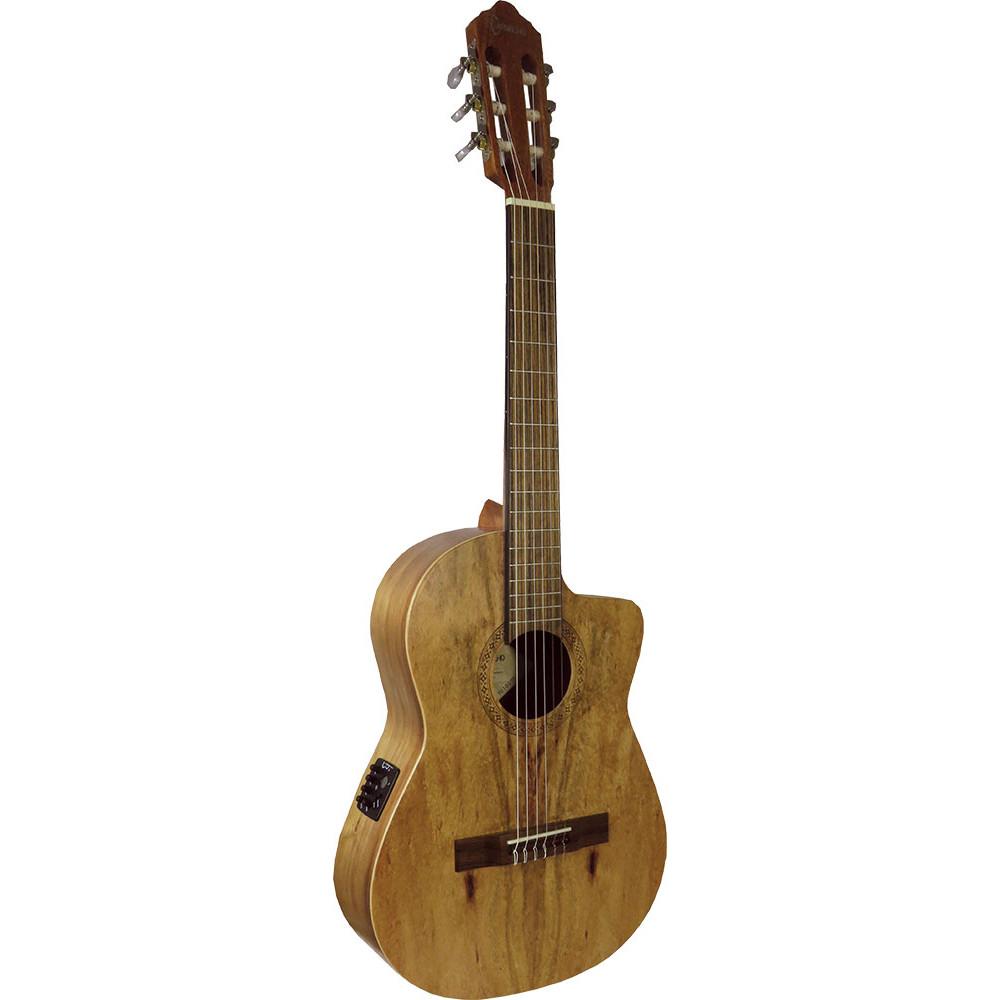 Carvalho Koa 3/4 3/4 Classical Electro Guitar