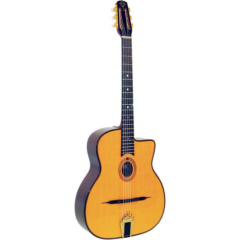 Gitane DG-255 Gypsy Jazz Guitar, Oval Hole