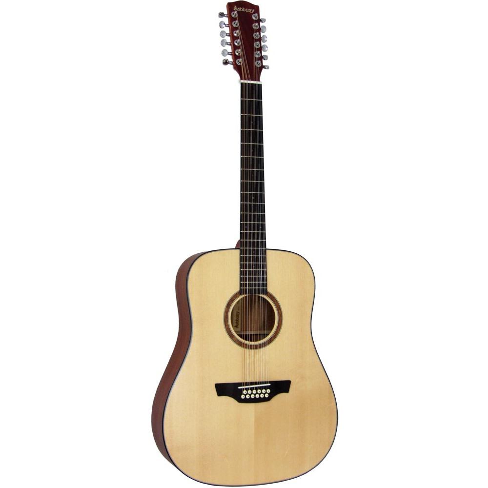 Ashbury AG-48 Dreadnought Guitar, 12 string