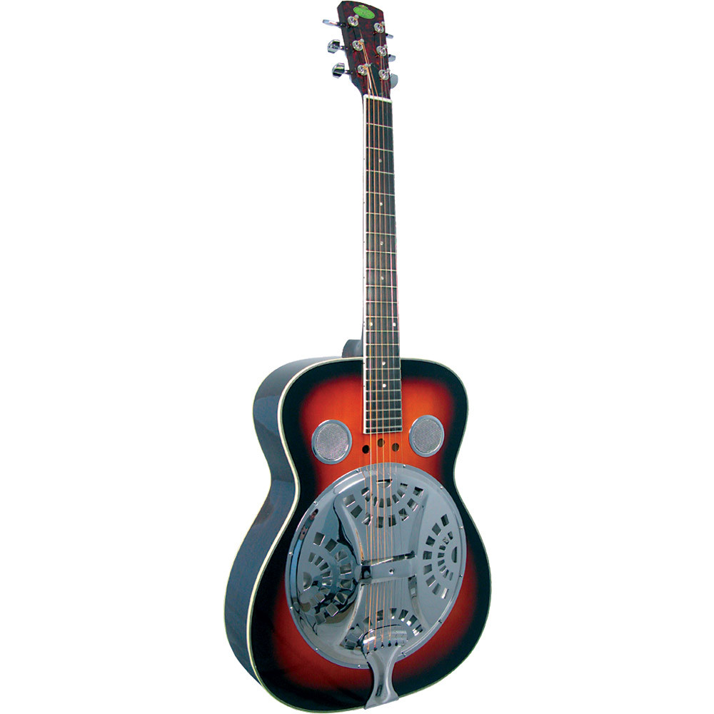 Regal RD-30 Resonator Guitar Sunburst