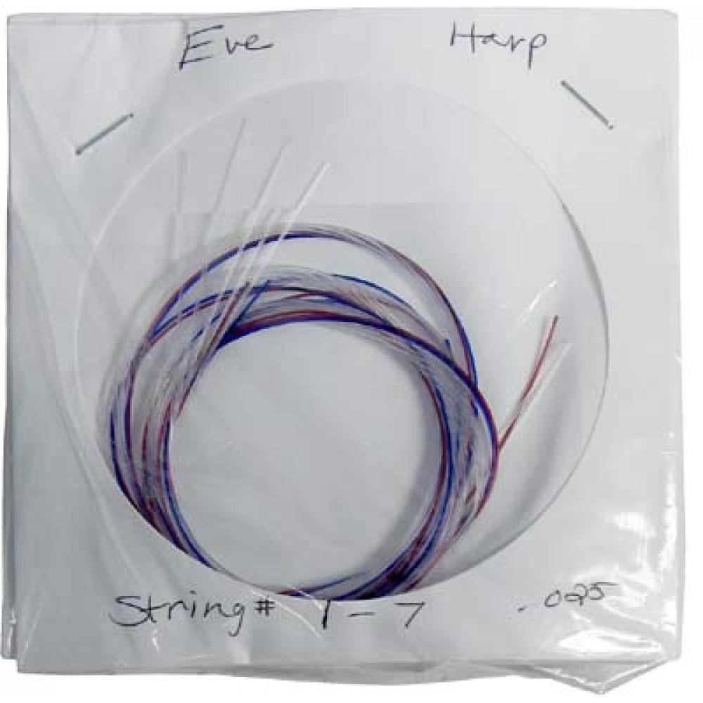 Stoney End 22 nylon harp strings