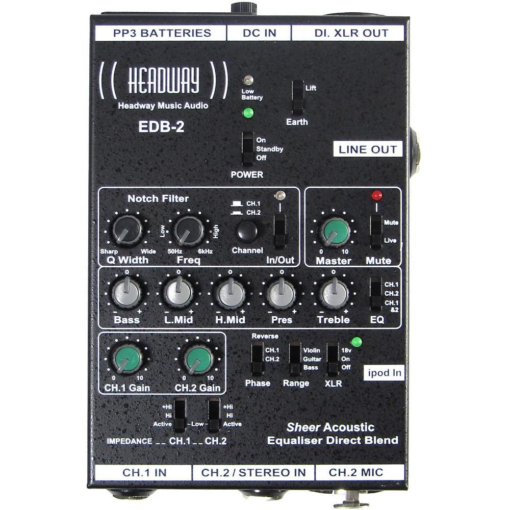 Headway EDB-2 H.E EQ box for Guitar etc