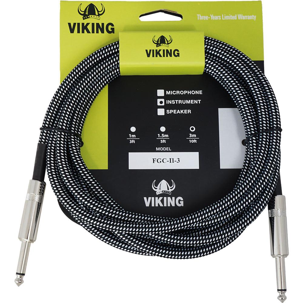 Leem 10ft (3m) Fabric Guitar Cable