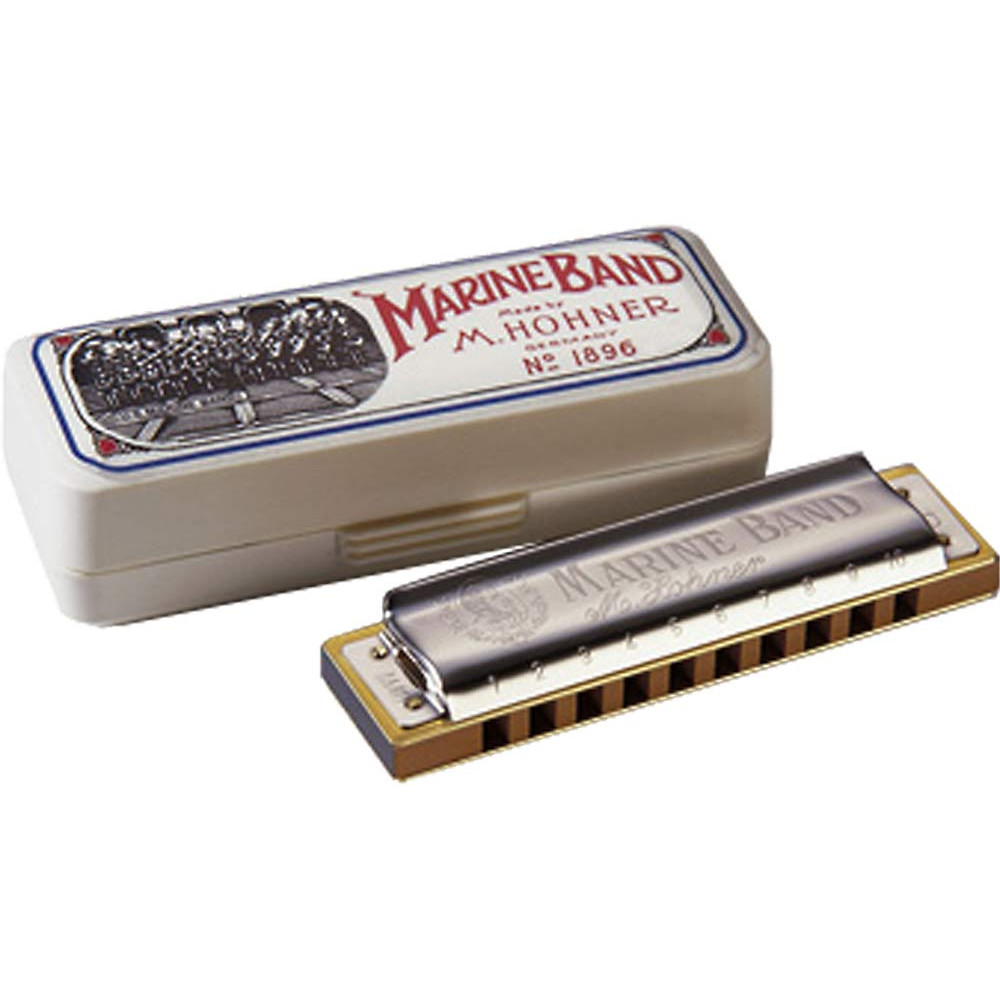 Hohner Marine Band Harp in G