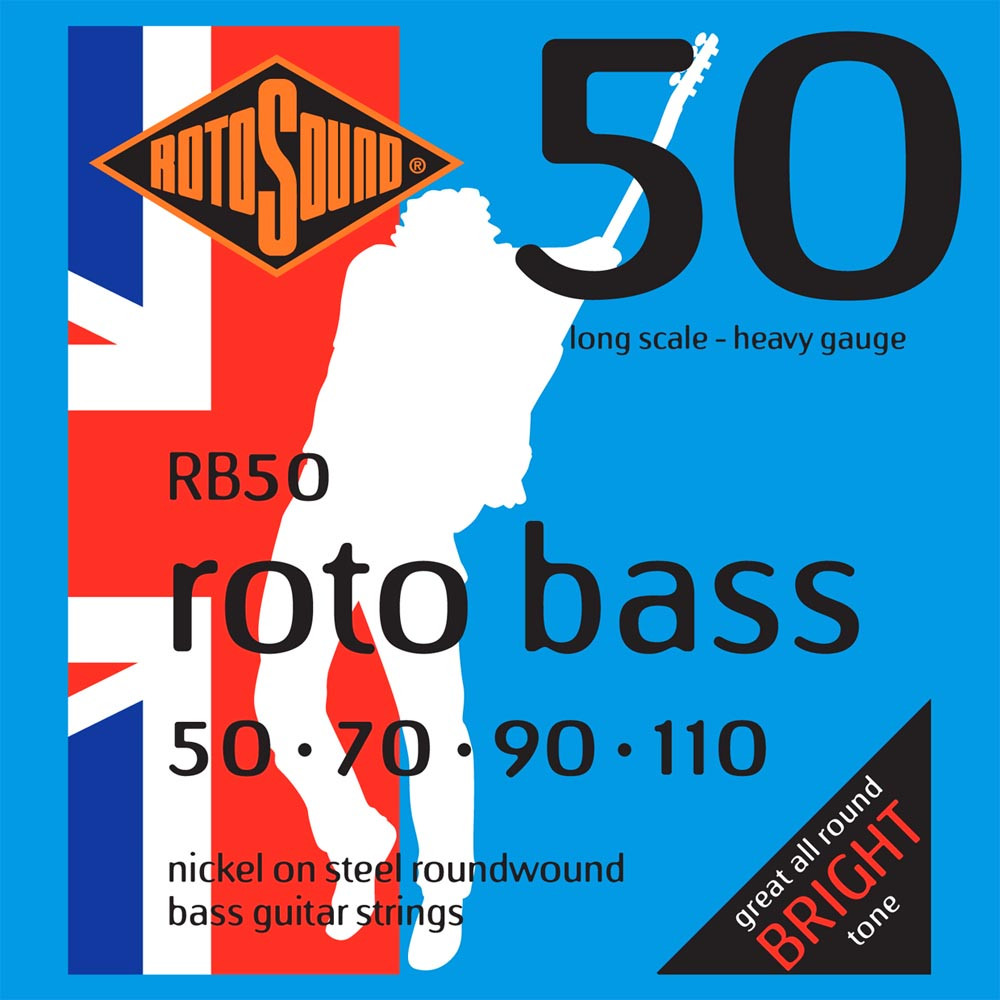 Rotosound RB50 Roto Bass Strings, Heavy