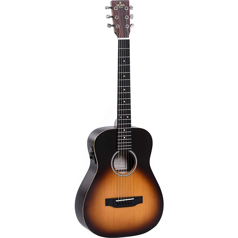 Sigma TT-12E Travel Guitar EQ, Sunburst