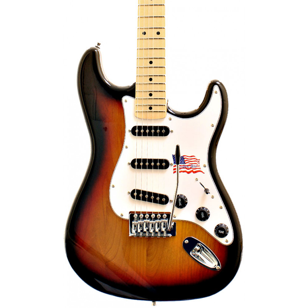 Sx Electric Guitars 86673 Electic Guitar SC, Alder, S/B