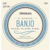 D'Addario EJ60 5 string Banjo Strings, L