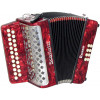 Scarlatti Rosso B/C Melodeon, Czech Durall Reed