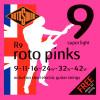 Rotosound R9 Roto Pinks Electric Guitar Set