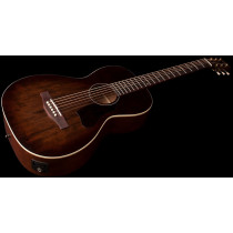 A&L Roadhouse Parlour Guitar, Bourbon Burst